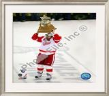 Henrik Zetterberg, 2007-08 Conn Smythe MVP Trophy Winner; 28 Framed Photographic Print