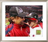 Tony LaRussa And David Eckstein Framed Photographic Print