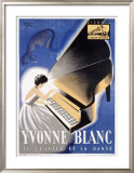 Yvonne Blanc Framed Giclee Print