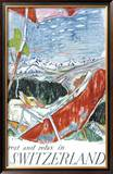 Switzerland Framed Giclee Print by Carigiet Alois