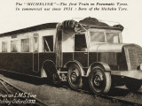 The 'Micheline' - a Train on Pneumatic Tyres Photographic Print