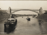 A Bridge over the Kiel Canal Linking the North Sea and the Baltic Photographic Print