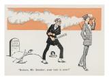 Tobacco Ban Threat Giclee Print