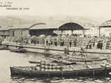 Almeria, Spain - Embarkation of Eggs in Barrels for Export Fotografie-Druck