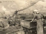 A Woman Working in the Belgian Pays Noir (Black Country) Photographic Print