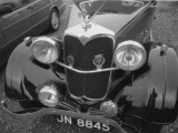 The Front End of a Riley Car Photographic Print by Vanessa Wagstaff