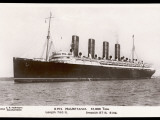 The 31 Ton Mauretania at Southhampton Docks Photographic Print