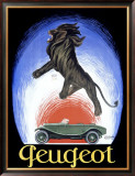 Peugeot Framed Giclee Print by Leonetto Cappiello