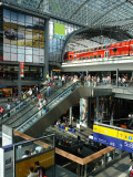 View Inside the New Central Railway Station, Berlin, Germany Photographic Print