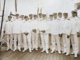 Crew of RMS Olympic Photographic Print