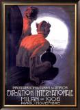 Expo Internationle Milan, 1906 Framed Giclee Print by Leopoldo Metlicovitz