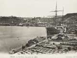 The Port at Oran, Algeria Close to the Harbour Mole Reproduction photographique