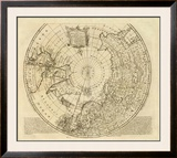 North Pole, c.1747 Framed Giclee Print by Emanuel Bowen