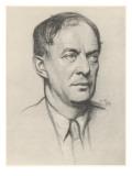 Walter de la Mare, English Poet & Novelist, Giclee Print
