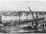 Aquitania Construction Photographic Print
