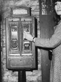 Stamp Machine 1960s Photographic Print