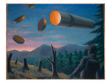 UFOs Giclee Print by Michael Buhler