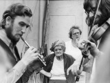 Watching Musicians - Eisteddfod Photographic Print by Shirley Baker