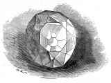 The Re-Cut Koh-I-Noor Diamond, 1852 Photographic Print