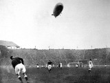 The 'Graf Zeppelin' over Wembley During the F.A. Cup Final Photographic Print