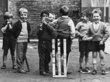Young Street Cricketers - Salford, 1964 Photographic Print by Shirley Baker