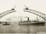 Sydney Harbour Bridge, Australia - Construction Photographic Print
