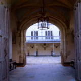 The Walkway into the Second Courtyard at Knole, Sevenoaks, Kent Photographic Print by Vanessa Wagstaff