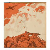 The Way France Is Carrying on These Days, She'Ll Soon Be Needing the Red Cross Again! Giclee Print