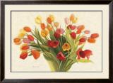 Spring Tulips Prints by Shirley Novak