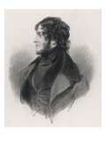 William Harrison Ainsworth English Novelist and Magazine Editor, Giclee Print
