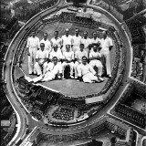 The Australian Cricket Team 'At' the Oval, 1938 Photographic Print