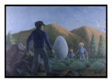 UFO Near Valensole, France Giclee Print by Michael Buhler