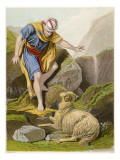 The Parable of the Good Shepherd Finding the Lost Sheep Giclee Print