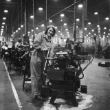Spitfire Factory WWII Photographic Print by Robert Hunt