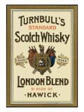 Turnbull's Whiskey, of Hawick, Scotland Lámina giclée