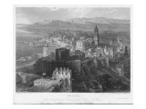 The Port of Malaga, in Andalucia, Is Dominated by its 16th Century Cathedral Giclee Print