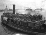 Steamship Transporting Soldiers - Aden Photographic Print by Vanessa Wagstaff