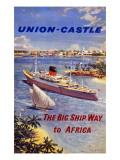 Union-Castle Line Giclee Print