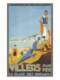 Villers-Sur-Mer Poster Giclee Print