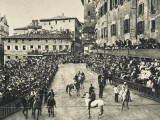 The Palio, Siena, Italy Photographic Print