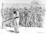 W.G. Grace Batting in the Nets at Lord's, 1895 Fotografisk trykk