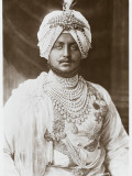 The Maharajah of Patiala Photographic Print