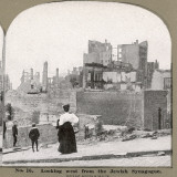 The Ruined City : Looking West from the Jewish Synagogue Photographic Print