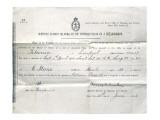 Titanic Death Form Giclee Print