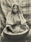 A Moorish Couscous Maker, Algeria, Photographic Print