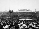 The Dempsey-Carpentier Fight, 1921 Reproduction photographique