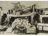 Treasures Found at the Tomb of Tutankhamen in the Valley of the Kings Papier Photo