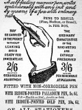 An Advertisement for Hearson's Patent Anti-Stylograph Pen Photographic Print