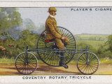 Starley's 'Coventry' Rotary Tricycle Photographic Print