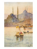 View Toward Constantinople, Turkey Giclee Print